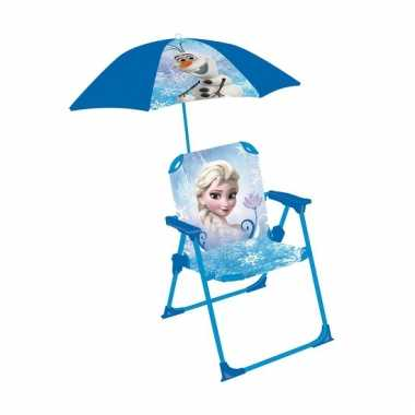 Goedkope disney frozen strandstoel met parasol