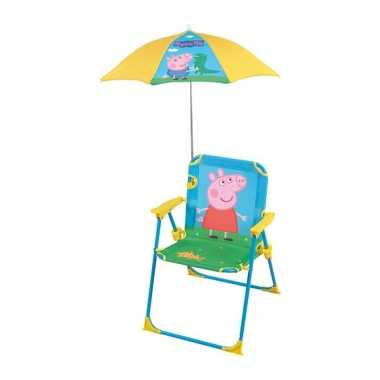 Strandstoel Met Parasol.Goedkope Peppa Big Strandstoel Met Parasol