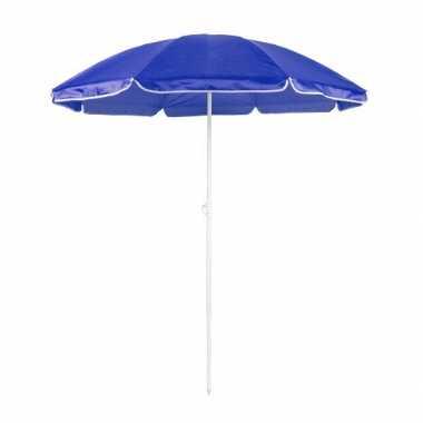 Goedkope  Verstelbare blauwe parasol