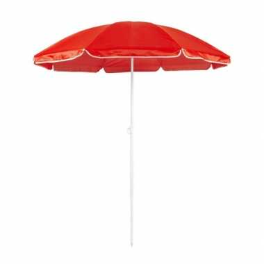 Goedkope  Verstelbare rode parasol